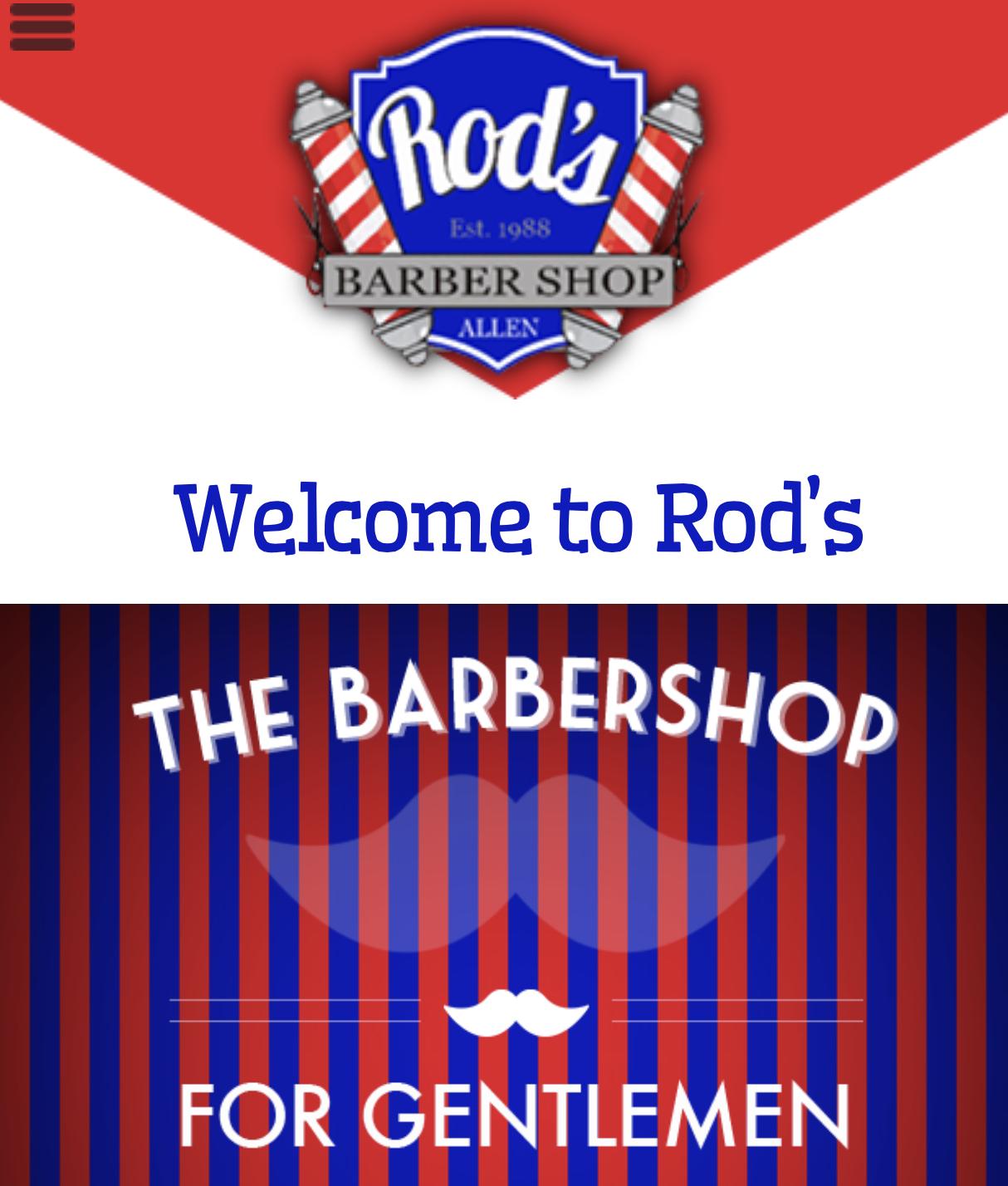 Rod's Barber Shop in Allen, TX