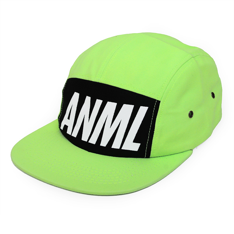 Neon Green Camp Cap